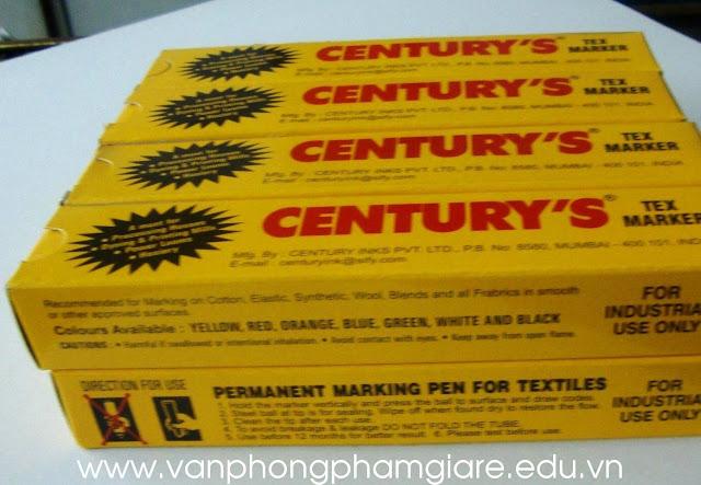 Bút đánh dấu vải CENTURY'S TEX MARKER
