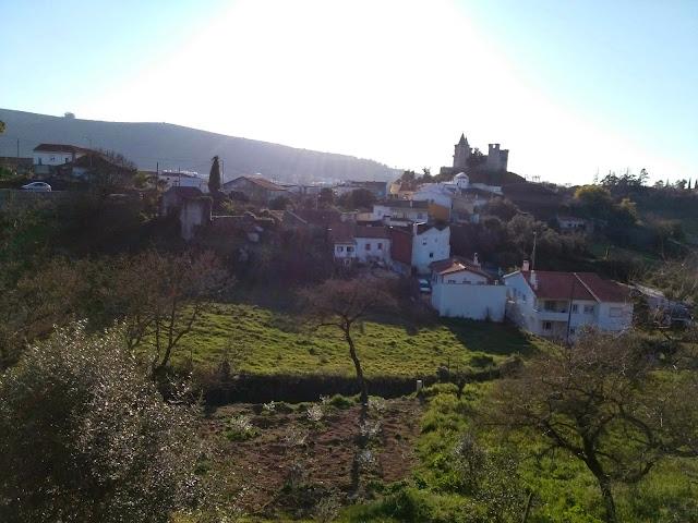 Vista Castelo Porto de Mós