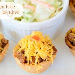 Gluten Free Sloppy Joe Bites.