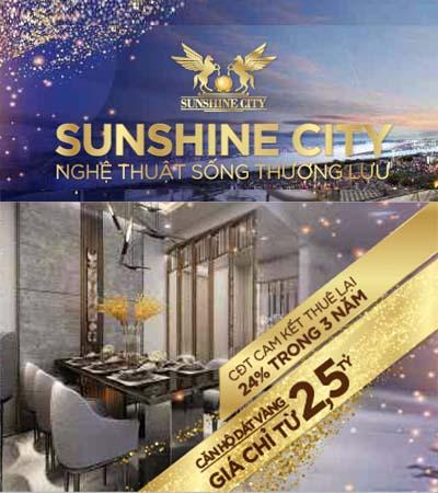 Mở bán Sunshine City