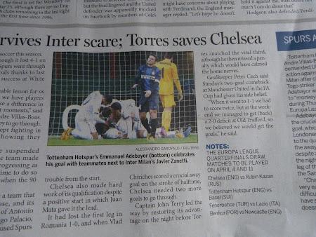Meciul Chelsea - Steaua