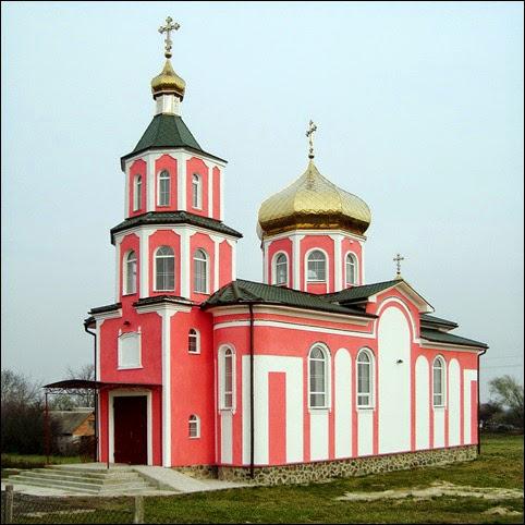Храм святого великомученика Димитрія Солунського поблизу Луцька