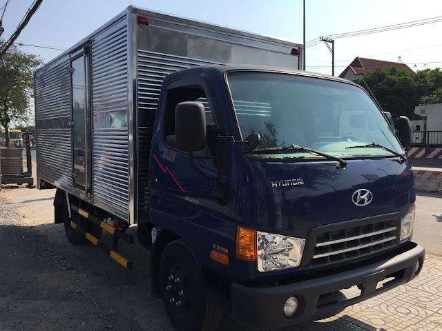 Hyundai 2,5 tấn thùng kín
