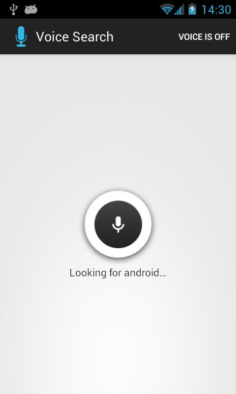 Voice Search Assistant - screenshot