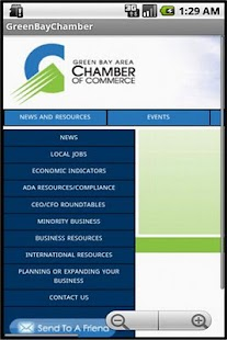 Green Bay Chamber of Commerce - screenshot thumbnail