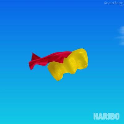 Is it a bird Is it a plane No it's Gold bear