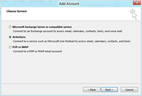 Outlook 2013 ActiveSync Support