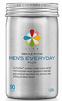 Life Nutrition Whole Food Men's Everyday Plus WATSONS $44.90, 90 vegicaps.