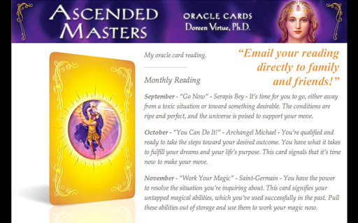 玩生活App|Ascended Masters Oracle Cards免費|APP試玩