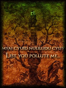 Lest you pollute me Cover