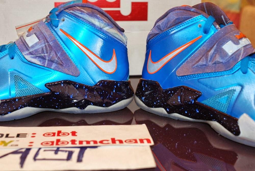 c7f9f66bb83 The Latest Nike Lebron 10 2013 all star Galaxy