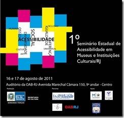 I Seminário Estadual de Acessibilidade em Museus