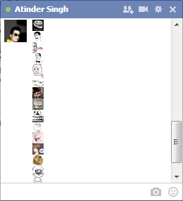 troll emoticons facebook chat
