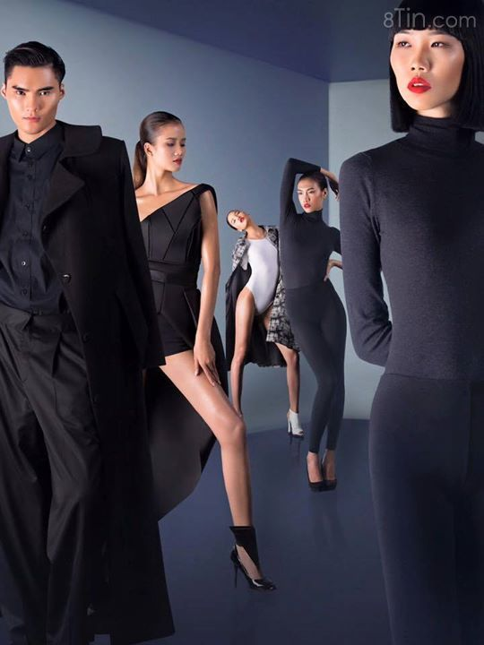 Dàn người mẫu đại diện của beU Academy chuẩn quá