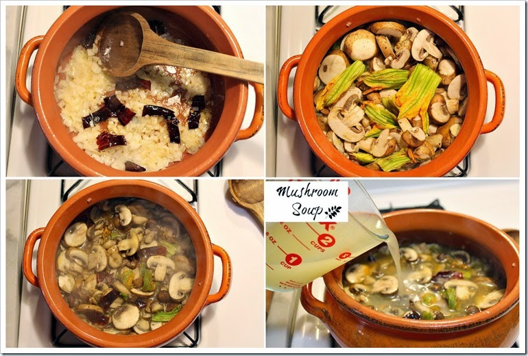 Mushroom Soup | Step by step instructions, quick and easy