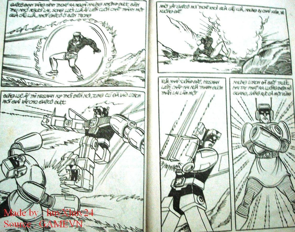 Dũng Sĩ Hesman chap 26 trang 21