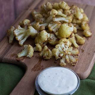 Spiced Roasted Cauliflower with Garlicky Aioli
