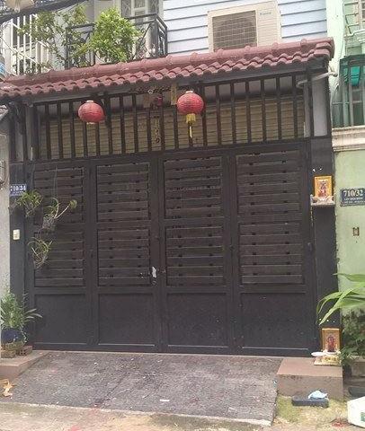 Bán nhà 1 trệt 3 lầu hẻm 710 Lũy Bán Bích Quận Tân Phú.1