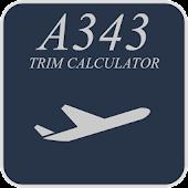Airbus 340-300 Trim Calculator