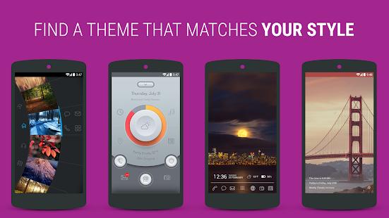 Themer: Launcher, HD Wallpaper Screenshot 8