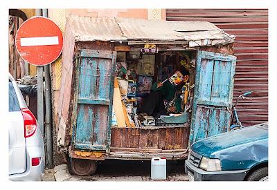 Marrakesch - Verkaufsladen