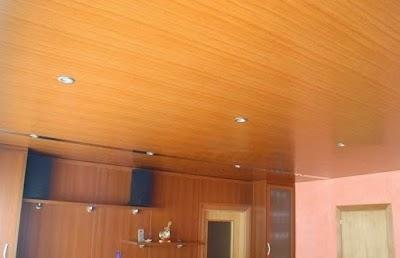 Falsos techos de aluminio cerezo