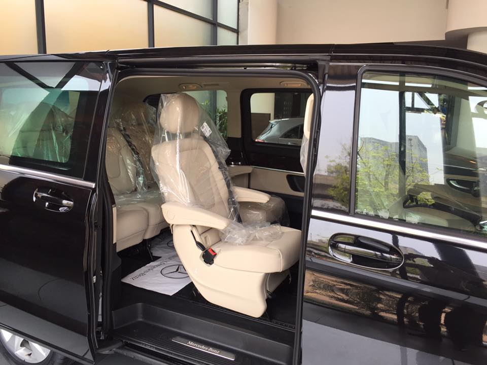 xe Mercedes Benz V220 Máy Dầu 05