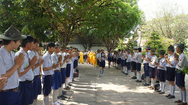 DSC06335 Lễ Hiệp kỵ   Lễ Huý Nhật Cư sĩ Sáng lập viên GĐPT Việt Nam   Tâm Minh Lê Đình Thám