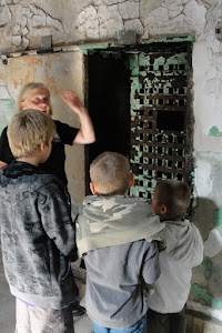 Unlocking a Cell Door at Eastern State Penitentiary