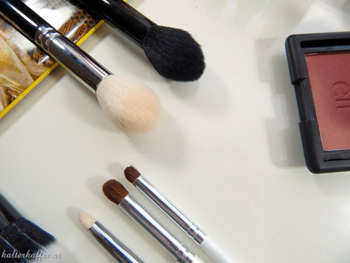 elf cosmetics studio brushes comparison