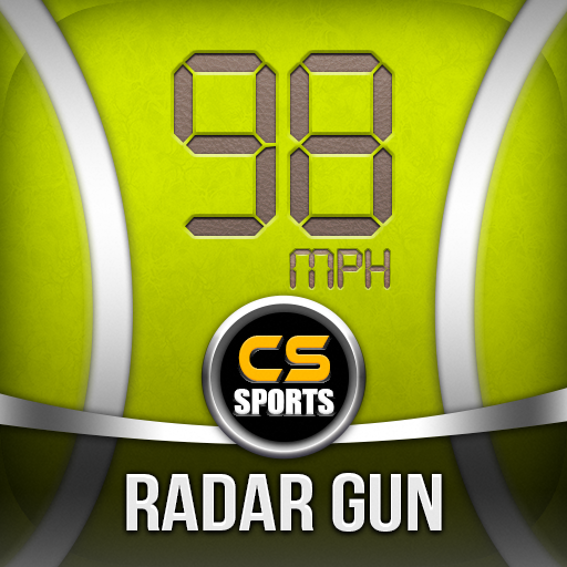 Tennis Serve Speed Radar Gun