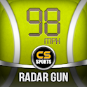 Tennis Serve Speed Radar Gun icon