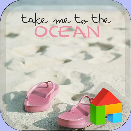 beach LINEランチャーテーマ 個人化 App LOGO-硬是要APP