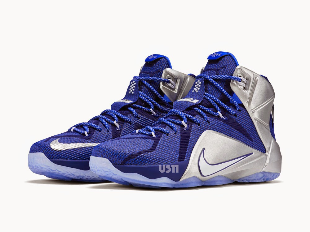 62a2a1987e2b5 An Additional Look at LeBron XII 8220Dallas Cowboys8221 aka 8220What If8221  ...