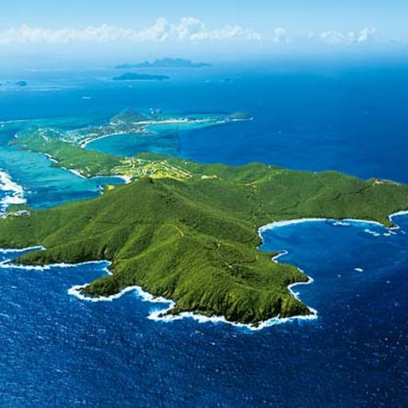 Canouan is an island in the Grenadines Islands belonging to St Vincent.