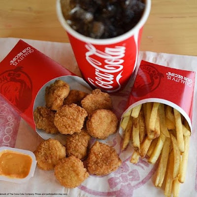 Gold Gold Gold Like these golden Wendys nuggets we are going to