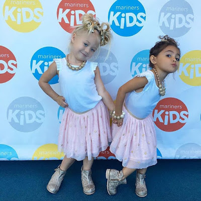 Foreverandforava are cute as can be in their kardashiankids outfits