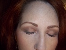 86d8d3002e1 For this look I used Bronze Stone in the crease, Caviar on the outer edge  of the lid and under the eye. On the lid I used Brown Sugar Metallic and  under ...