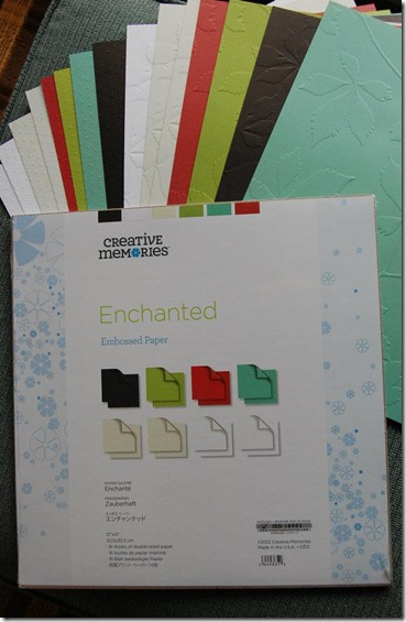 Enchanted Embossed Paper