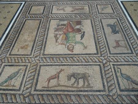 Muzeu Berlin: Mozaic roman