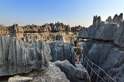 Tsingy de Bemaraha Strict Nature Reserve in Madagascar MondayMotivation