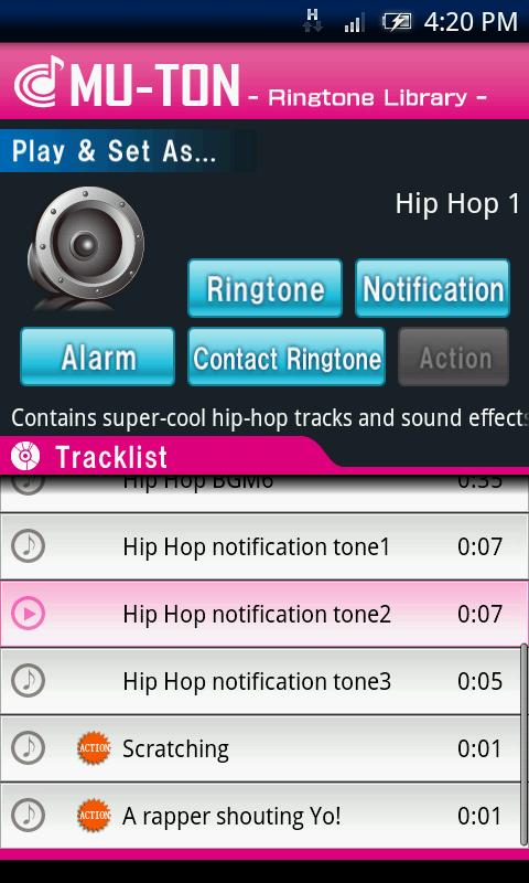 Hip Hop Library1(MU-TON) - screenshot