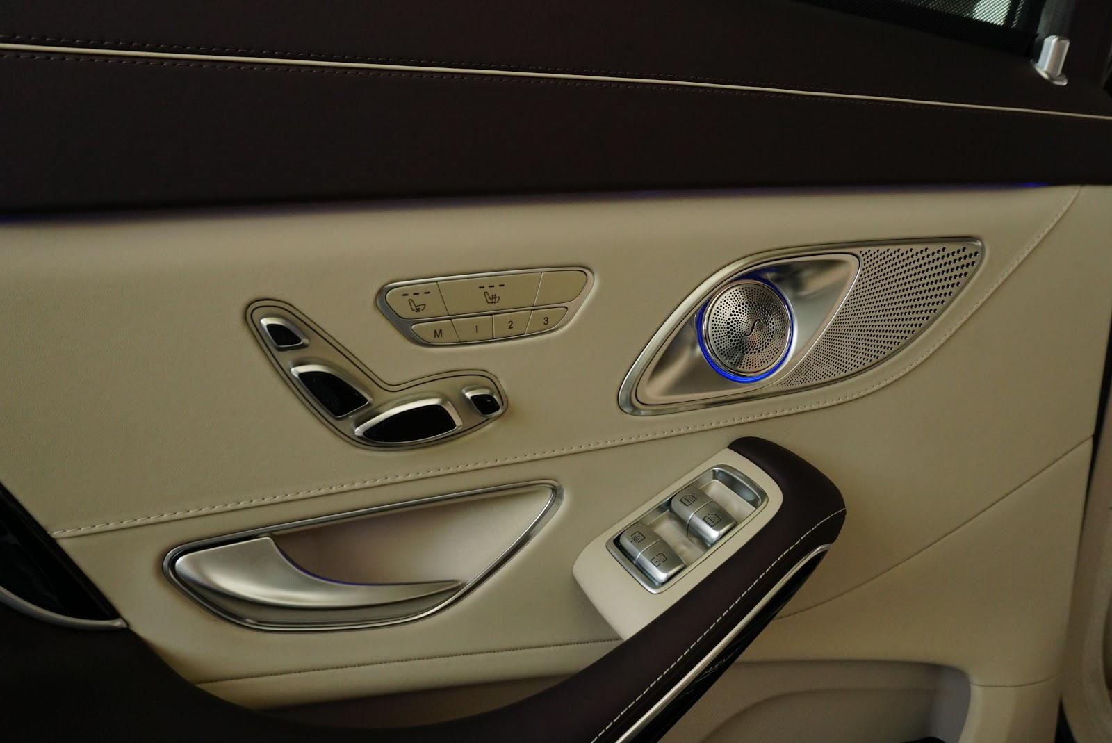 Nội Thất Xe Mercedes Benz S600 MAYBACH Màu Đen 07