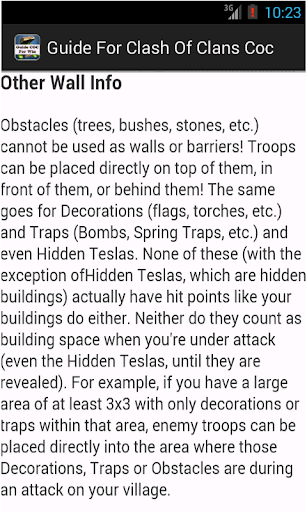 Guide For Clash Of Clans Defen