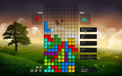 My Tetris para Windows 8