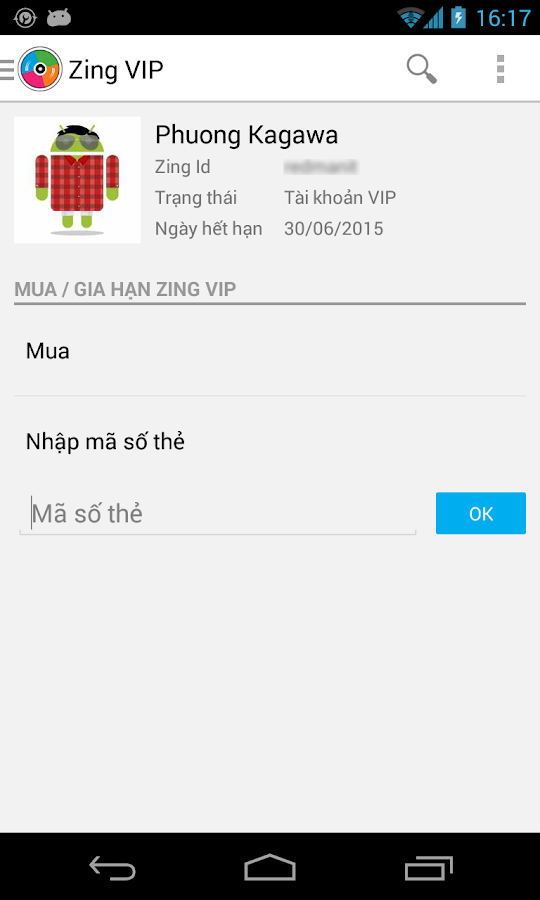Zing Mp3 - screenshot