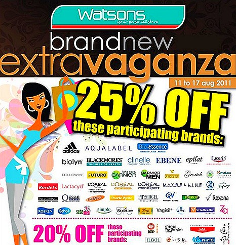 Watsons Marina Bay Sands sale