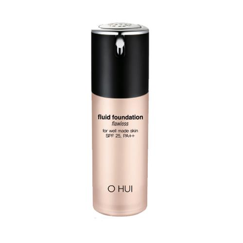 Kem che khuyết điểm Ohui Fluid Foundation Flawless
