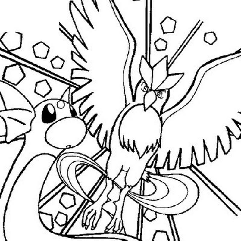 10 Pokemons Para Colorir Ou Pintar