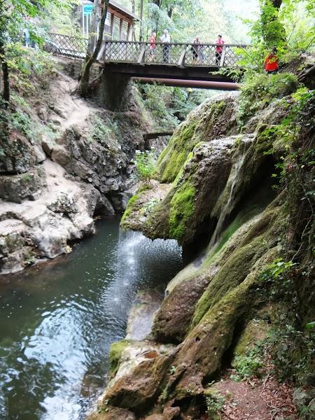 Pod peste cascada Bigar